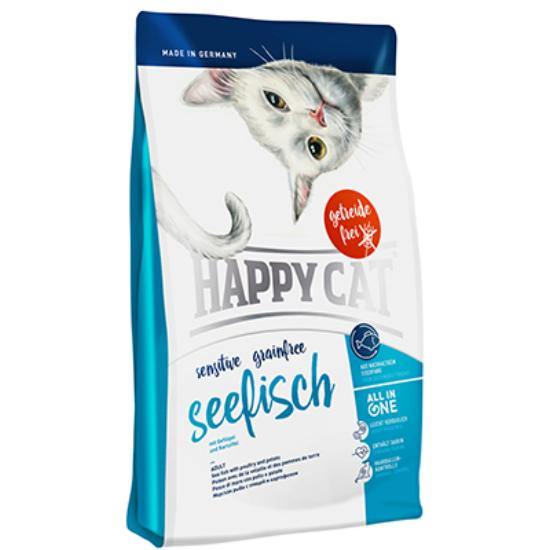 Happy Cat - Sensitive Gabonamentes Tengeri Hal