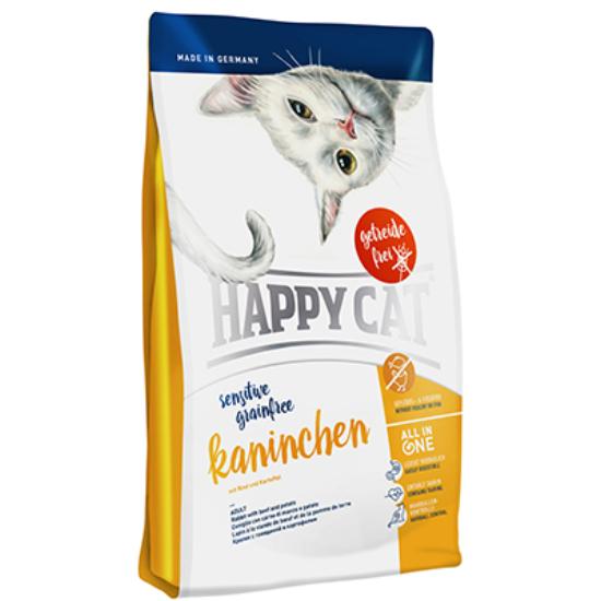 Happy Cat - Sensitive Gabonamentes Nyúl