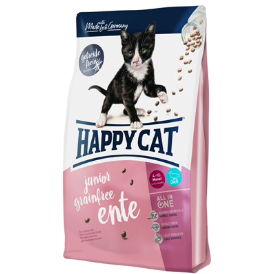 Happy Cat - Fit & Well Junior Grainfree Kacsa