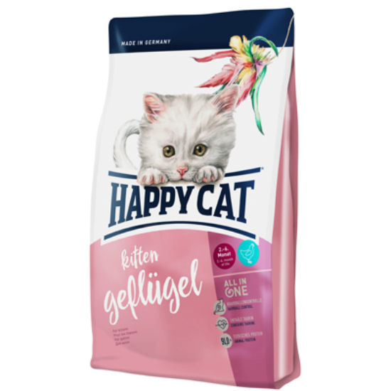 Happy Cat - Fit & Well Kitten Baromfi
