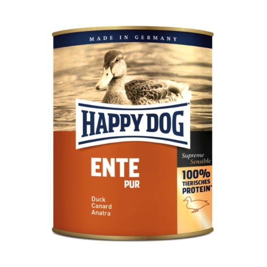 Happy Dog - Pur - Kacsahúsos konzerv