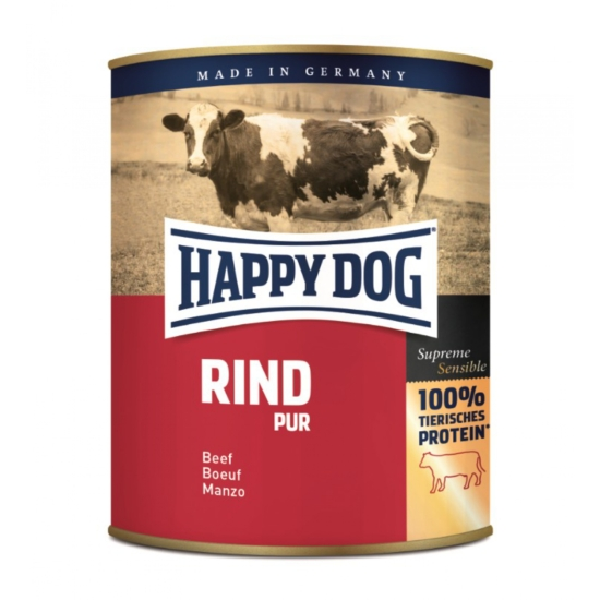 Happy Dog - Pur - Marhahúsos konzerv