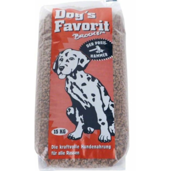 Happy Dog - Dog's Favorit Brocken 15 kg