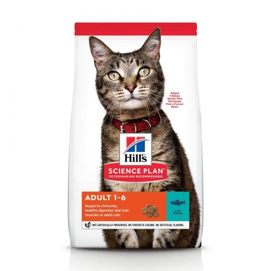 Hill's Science Plan - Tonhalas száraztáp Felnőtt macskáknak 10 kg