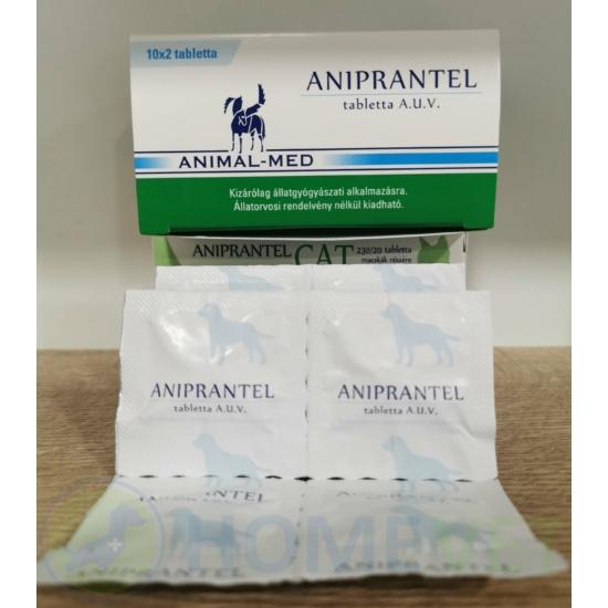 Aniprantel féreghajtó tabletta kutyáknak