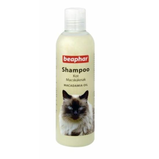 Beaphar- Sampon makadámia olajjal Macskáknak 250 ml