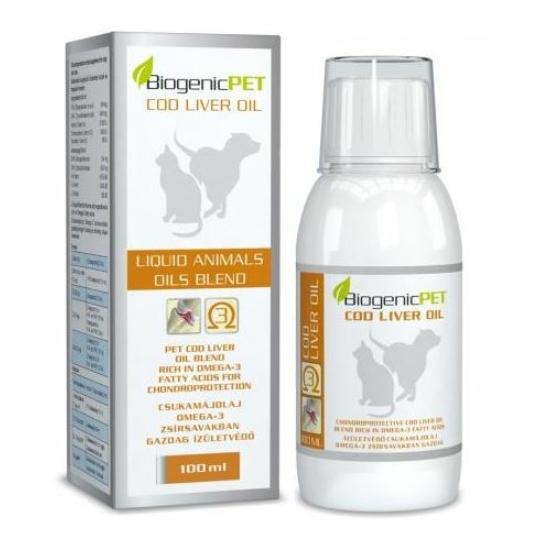 BiogenicPet - Csukamájolaj 100 ml