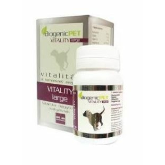 BiogenicPet - Vitality Large tabletta Nagytestű Kutyáknak 60 x