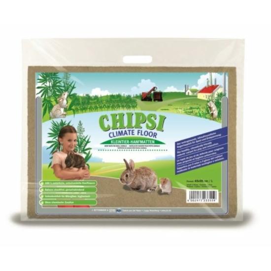 Chipsi Klímabarát Kender Rágcsálószőnyeg L 46x55 cm 600 g