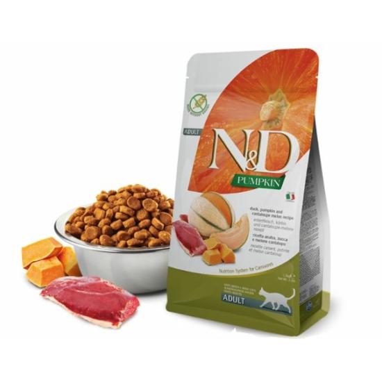N&D Cat Pumpkin Kacsa-Sütőtök-Sárgadinnye táp macskáknak