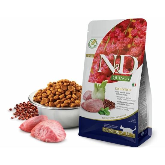 N&D Cat Quinoa - Bárányos emésztést támogató száraztáp
