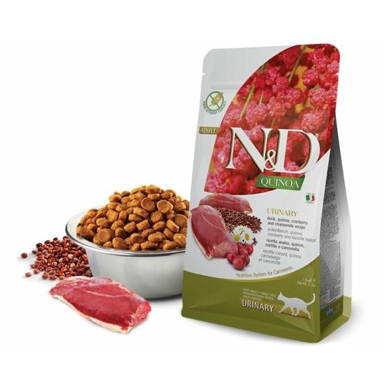 N&D Cat Quinoa - Húgyutak védelme Kacsa száraztáp