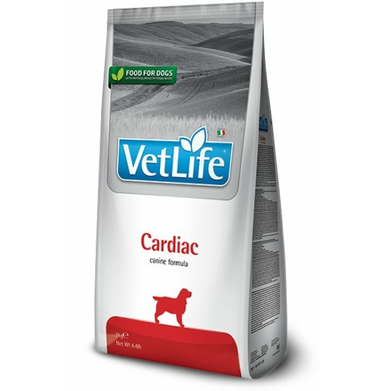VetLife Dog Cardiac - száraztáp a szívért 2 kg
