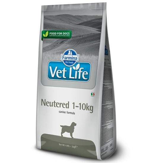 VetLife Dog Neutered 1-10kg-os Steril kutyáknak 2kg