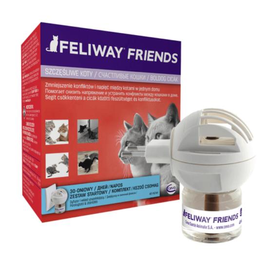 Feliway Friends párologtató és utántöltő a cicabarátságért