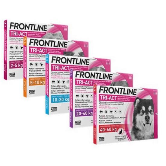 Frontline Tri-Act  rácsepegtető oldat kutyáknak