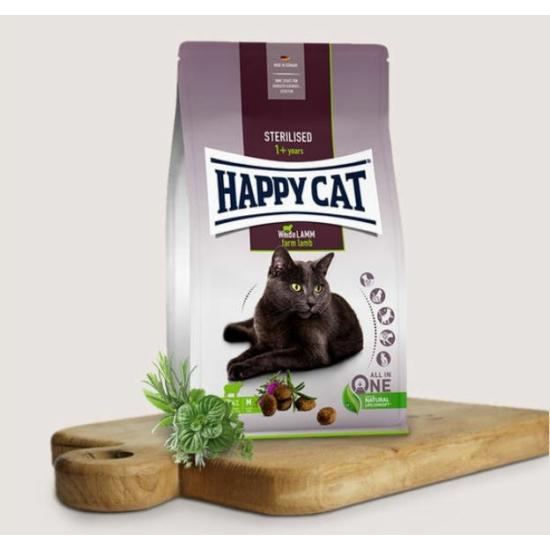 Happy Cat - Bárányos táp Steril cicáknak