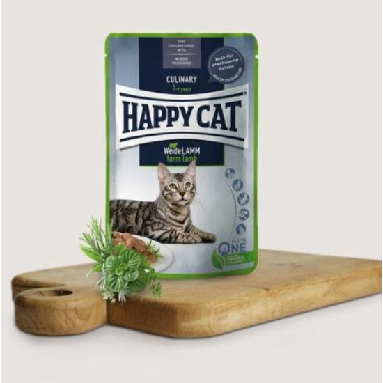 Happy Cat- Culinary Bárányos alutasak 24x85 g