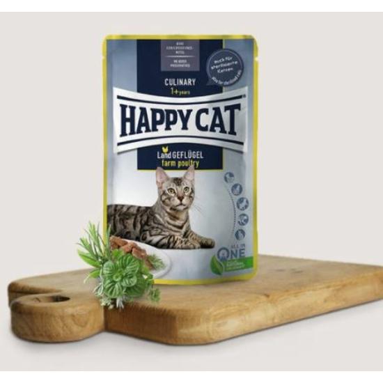 Happy Cat- Culinary Baromfihúsos alutasak 24x85 g