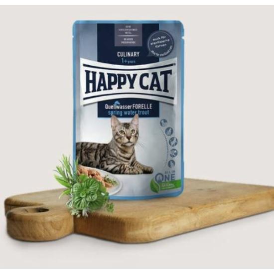 Happy Cat- Culinary Pisztrángos alutasak 24x85 g