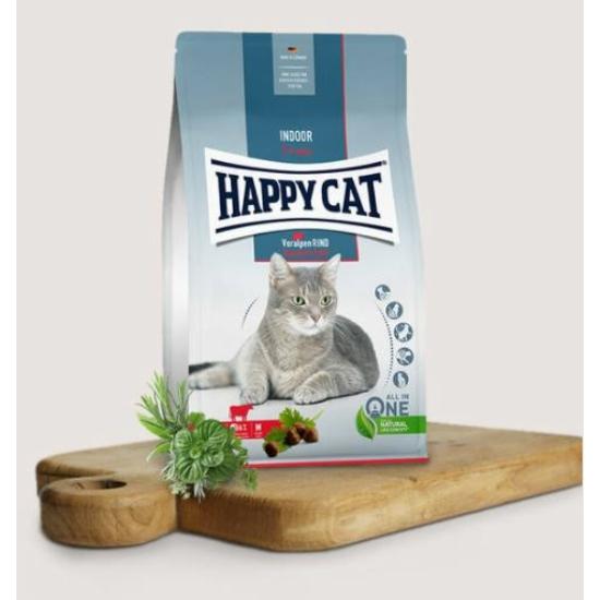 Happy Cat - Indoor Marhahúsos táp benti cicáknak