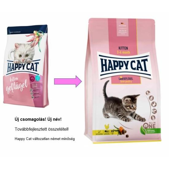 Happy Cat - Kitten Baromfi kiscicáknak