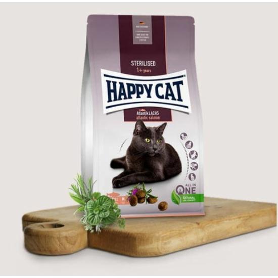Happy Cat - Lazacos táp Steril cicáknak
