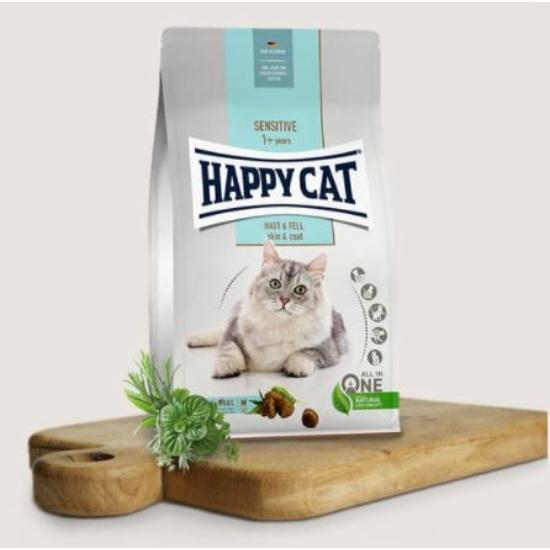 Happy Cat - Sensitive Skin&Coat macskatáp a Bundáért