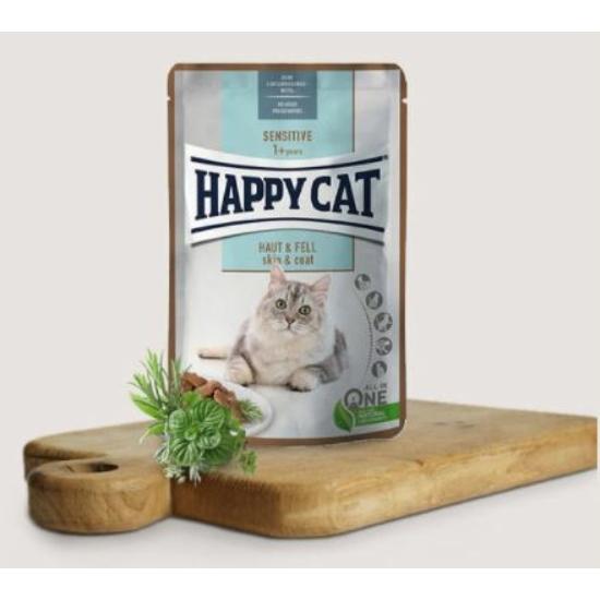 Happy Cat - Sensitive Skin&Coat alutasak a Bundáért 85 g
