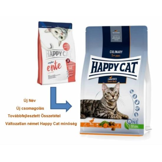 Happy Cat - Culinary Adult Kacsahúsos macskaeledel