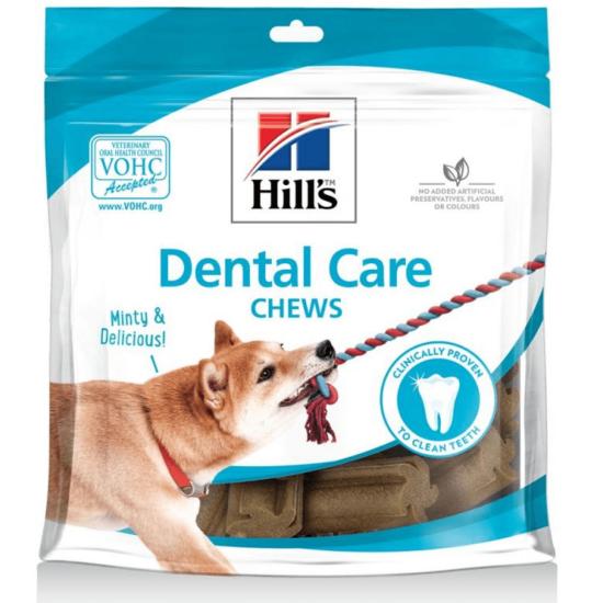 Hill's Dental Care Chews Fogápoló Jutalomfalat Kutyáknak 220 g