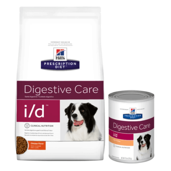 Hill's Prescription Diet - I/D Emésztés támogató száraztáp kutyáknak
