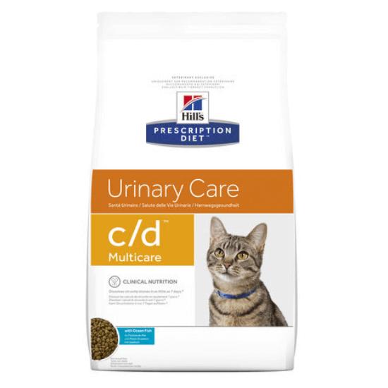 Hill's Prescription Diet - C/D Urinary Multicare halas macskatáp