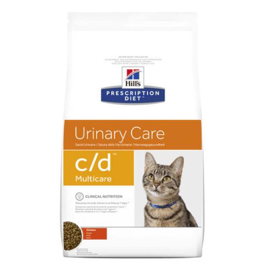 Hill's Prescription Diet - C/D Urinary Multicare csirkés macskatáp