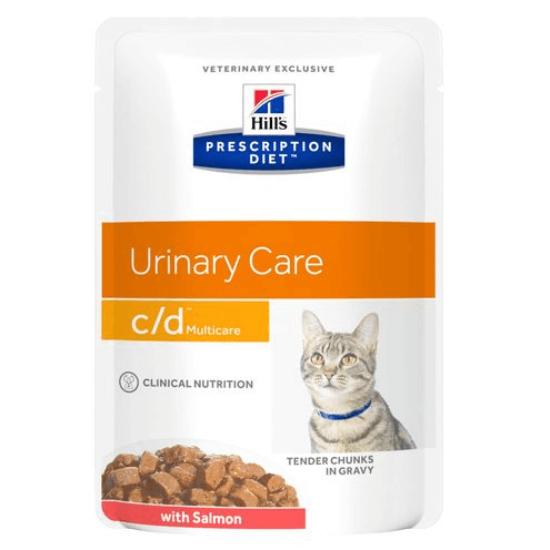Hill's Prescription Diet - C/D Urinary Multicare lazac alutasak 12x85 g