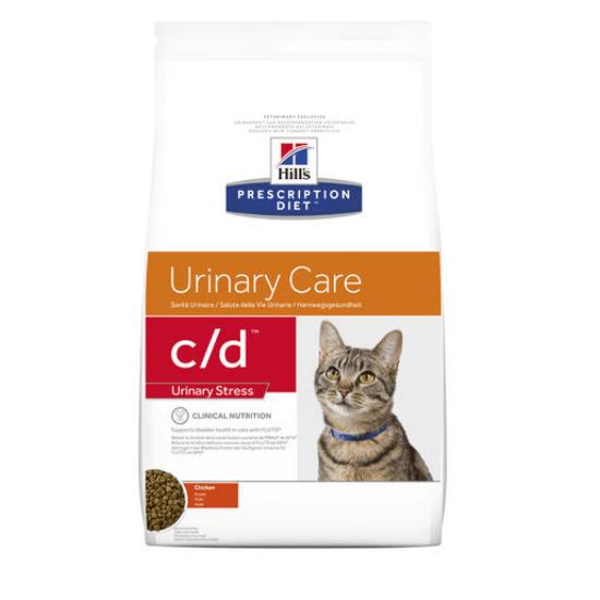 Hill's Prescription Diet - C/D Urinary Stress száraz macskatáp