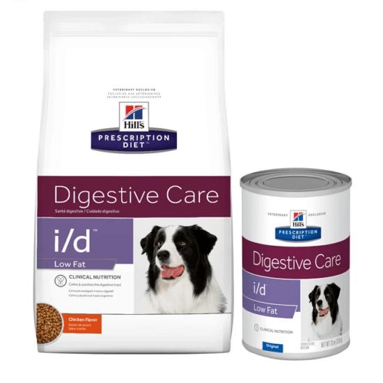 Hill's Prescription Diet - I/D Low Fat Zsírszegény száraztáp kutyáknak