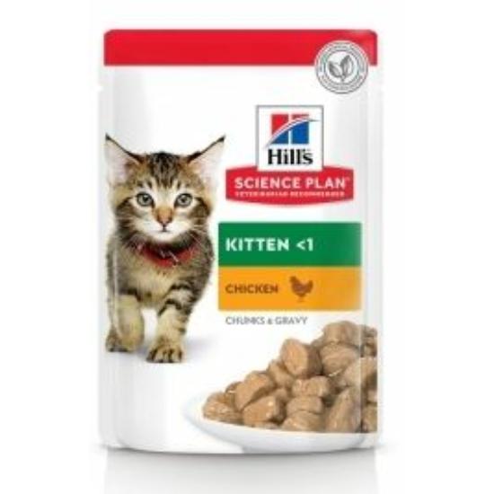 Hill's Science Plan - Csirkés alutasak Kölyök cicának 12x85 g