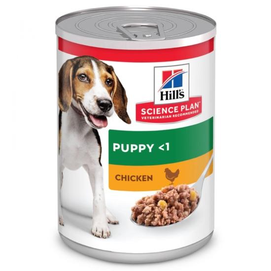 Hill's Science Plan - Csirkehúsos konzerv Kölyök kutyáknak 370 g