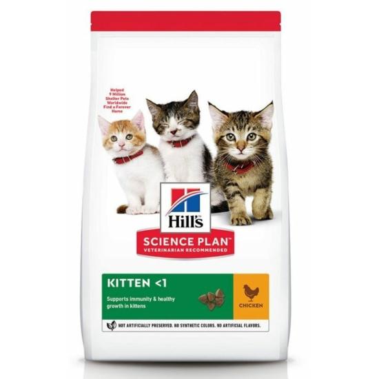 Hill's Science Plan - Csirkehúsos száraztáp Kölyök cicának