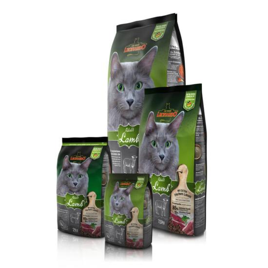 Leonardo Adult Bárány-Rizs száraztáp macskáknak