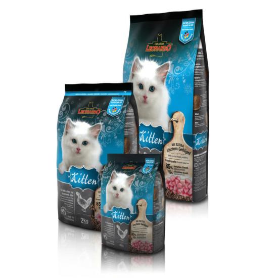 Leonardo Kitten száraztáp Kölyök cicáknak