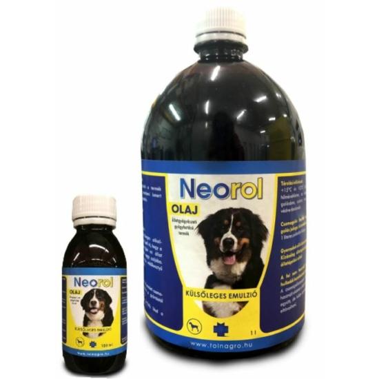 Neorol olaj kutyák sebkezelésére