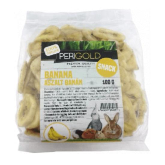 PeriGold Aszalt Snack - Banán 100 g