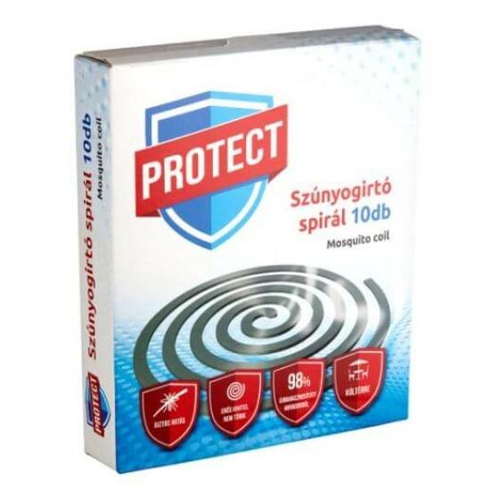 Protect Plus Szúnyogirtó Spirál 10 db