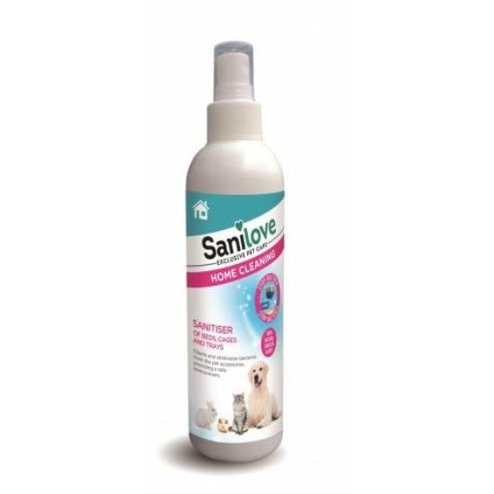 Sanilove Fertőtlenítő Tisztítószer kisállat kiegészítőkhöz 250 ml