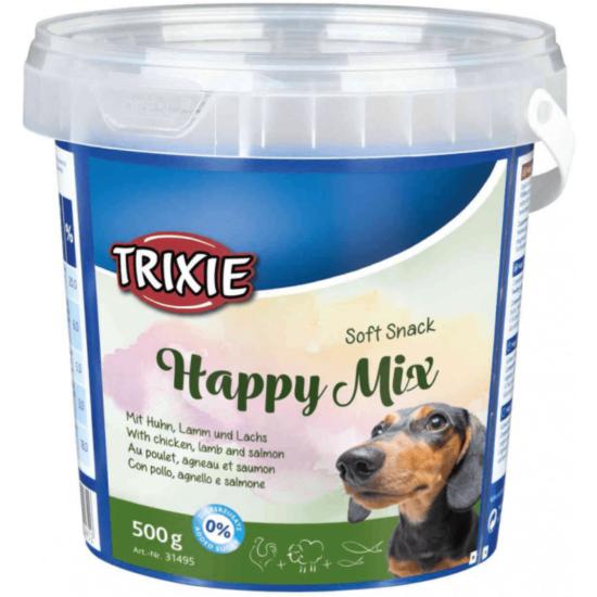 Trixie Jutalomfalat Soft Snack Happy Mix Vödör kutyáknak 500gr