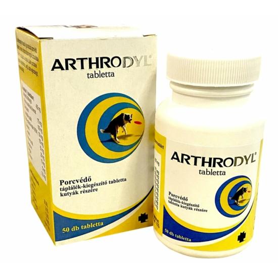 Arthrodyl porcvédő tabletta kutyáknak 50x