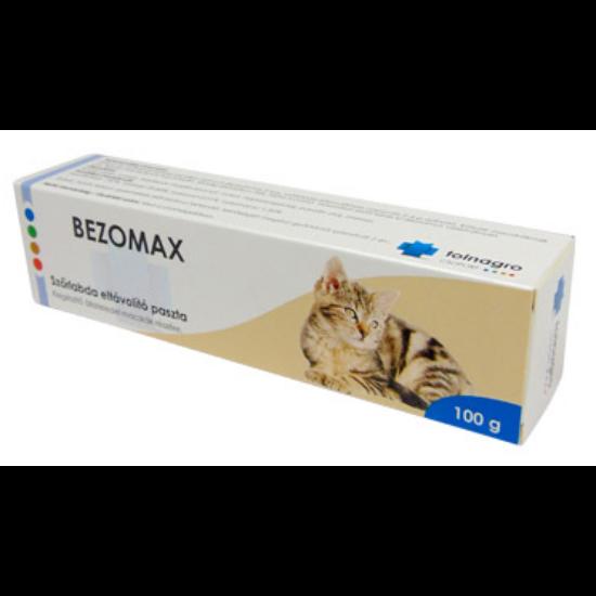 Bezomax szőrlabda elleni paszta macskáknak 100 g