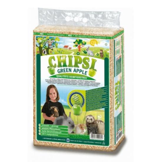 Chipsi Forgács alom Zöldalma illattal